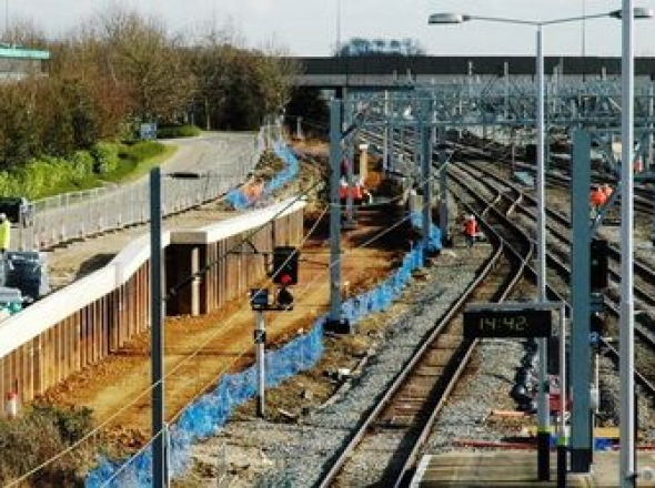 MK Rail, Platform 1 , Milton Keynes