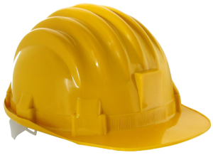 Health and Safety hard hat