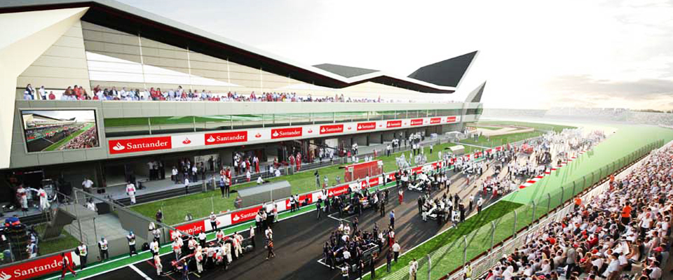 Inglaterras Porra Silverstone_stand